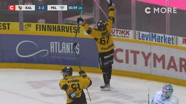 Liiga, Kasper Puutio iskee jatkoajalla 3-2-voittomaalin KalPalle