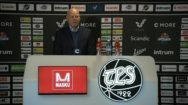 Liiga, Lehdistötilaisuus: TPS - Lukko