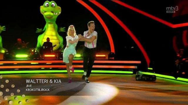 Tanssii Tähtien Kanssa, Waltteri & Kia – Krokotiilirock