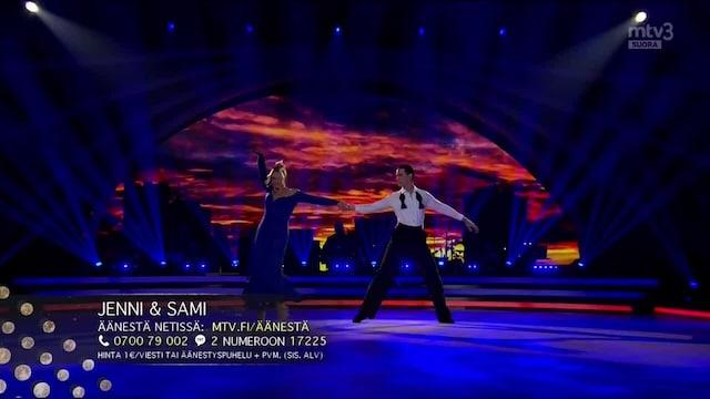 Tanssii Tähtien Kanssa, Jenni & Sami – Mä haluun viihdyttää