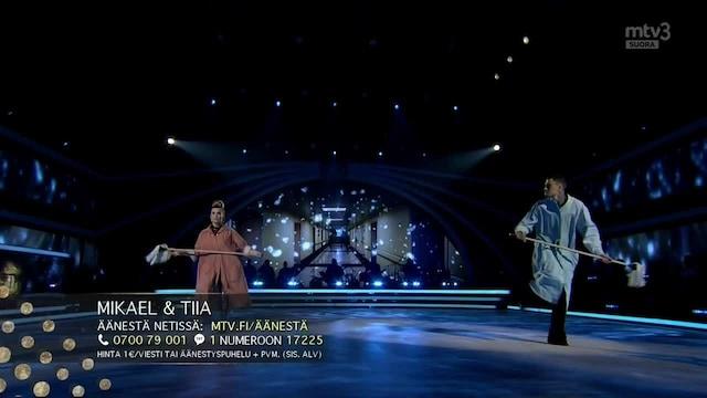 Tanssii Tähtien Kanssa, Mikael & Tiia – Blame it on the Boogie