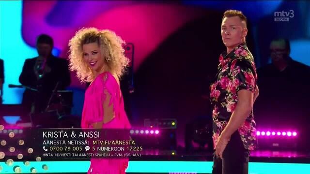 Tanssii Tähtien Kanssa, Krista & Anssi - Conga
