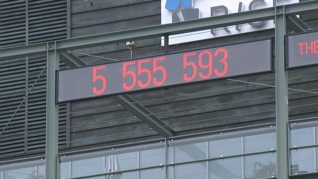 Kevennys 19.9.2021, Lauantaina Suomen väkiluku oli 5 555 555
