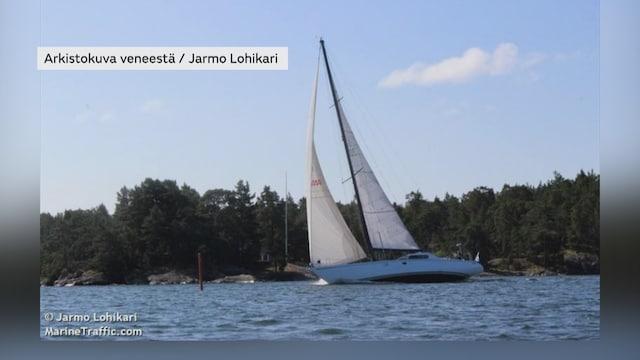 MTV Uutiset Live, Virossa merihätään joutunut suomalainen purjevene odottaa hinausapua – purjehtija kertoo aluksen tilanteesta