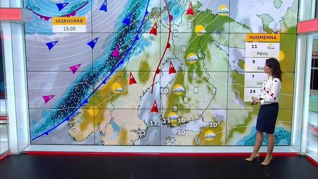 Päivän sää, Maanantai 20.9. Sateeton syyssää jatkuu - pilvisyys enimmäkseen runsasta