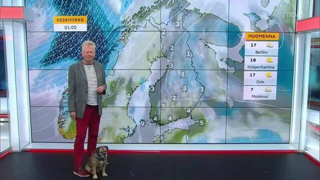 Uutisaamun sää, Tiistai 21.9. Viileää ja laajalti pilvistä