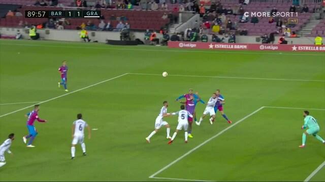 La Liga, Barcelona välttyi nololta kotitappiolta: Ronald Araujo puski tasoituksen viime hetkillä
