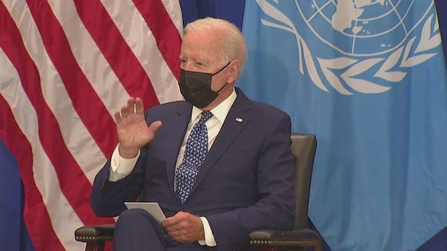 MTV Uutiset Live, Kriisinhallinnasta kritiikkiä saanut presidentti Biden pitää ensimmäisen YK-puheensa – kirjeenvaihtajamme raportoi New Yorkista