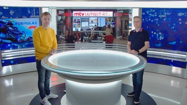 MTV Uutiset Live, F1-tehokaksikko Niki Juusela ja Ossi Oikarinen kertovat: Nämä ovat lähtökohdat Venäjän kisaviikonloppuun