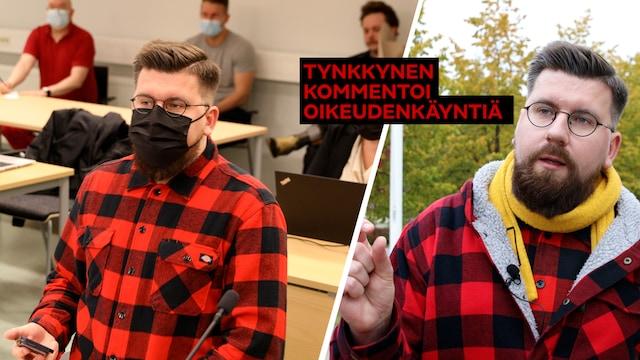 Uutisklipit, Sebastian Tynkkynen kommentoi oikeudenkäyntiään MTV Uutisille – näin ensimmäinen käsittelypäivä sujui hänen mielestään