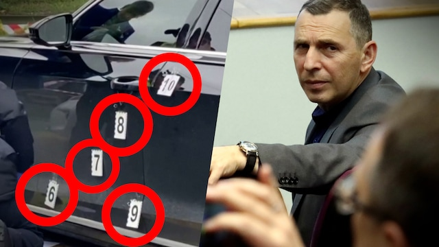 Uutisklipit, Tältä luodinreiät Zelenskiyn avustajan autossa näyttivät