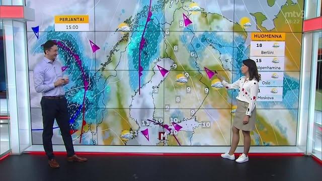 Uutisaamu, Myräkkä lähestyy Suomea – meteorologi Liisa Rintaniemi kertoo viimeisimmät tiedot