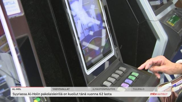 Uutisjutut: Kotimaa, Lotto vaatii pian tunnistautumista, pelikoneet eivät poistu kaupoista