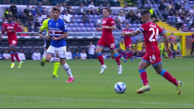 Serie A, Maalikooste: Sampdoria - Napoli