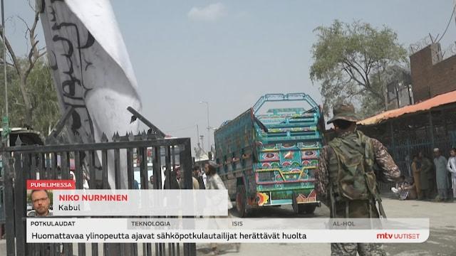Uutisjutut: Ulkomaat, MTV Afganistanissa: Millainen tunnelma maassa tällä hetkellä on?