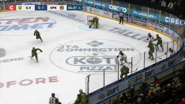 Liiga, Ilves tekee 6-1 maalin