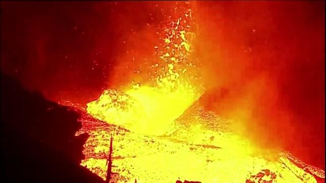 Uutisklipit, Tältä voimistunut tulivuorenpurkaus näyttää