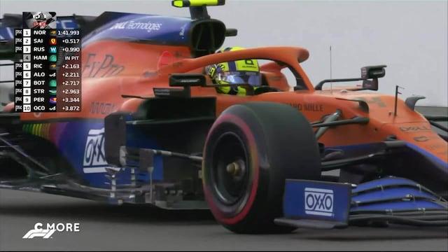 Formula 1: Venäjän GP, Aika-ajon ratkaisuhetket: Yllätykset jatkuvat - Lando Norris täräyttää paalulle!