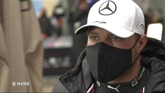 """Formula 1: Venäjän GP, Bottas: """"Tultiin vähän liian myöhään sisään slikseille"""""""