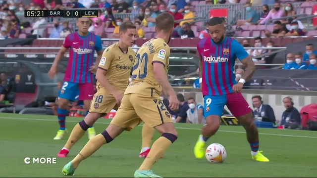 La Liga, Maalikooste: Barcelona - Levante