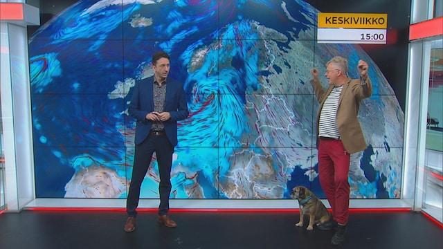 Uutisklipit, Nauti vielä, kun voit! Tänään on lämmintä ja aurinko paistaa - Pekka Pouta kertoo nyt viikon sään