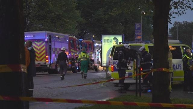 MTV Uutiset Live, Poliisi epäilee Göteborgin räjähdystä tahalliseksi – silminnäkijä kertoo kokemuksistaan