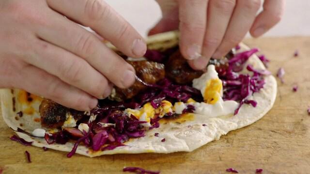 Jamie Oliver: Kaikki kokkaamaan, Jakso 17: Kasvikset käyttöön