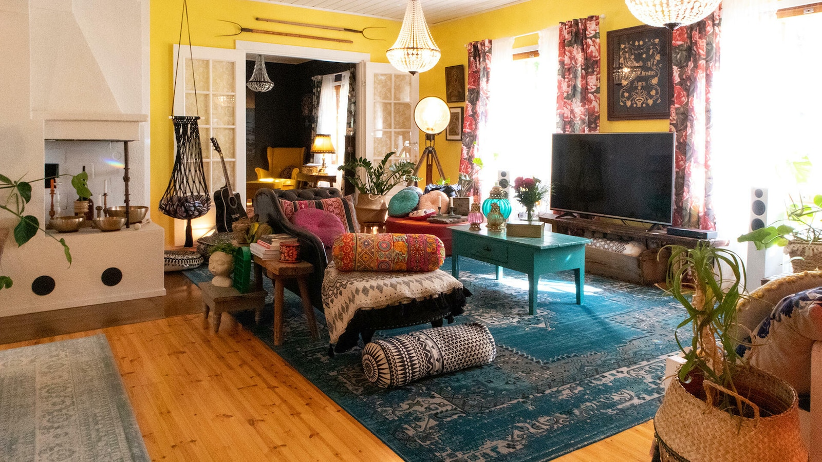 7. Värikkäät kodit