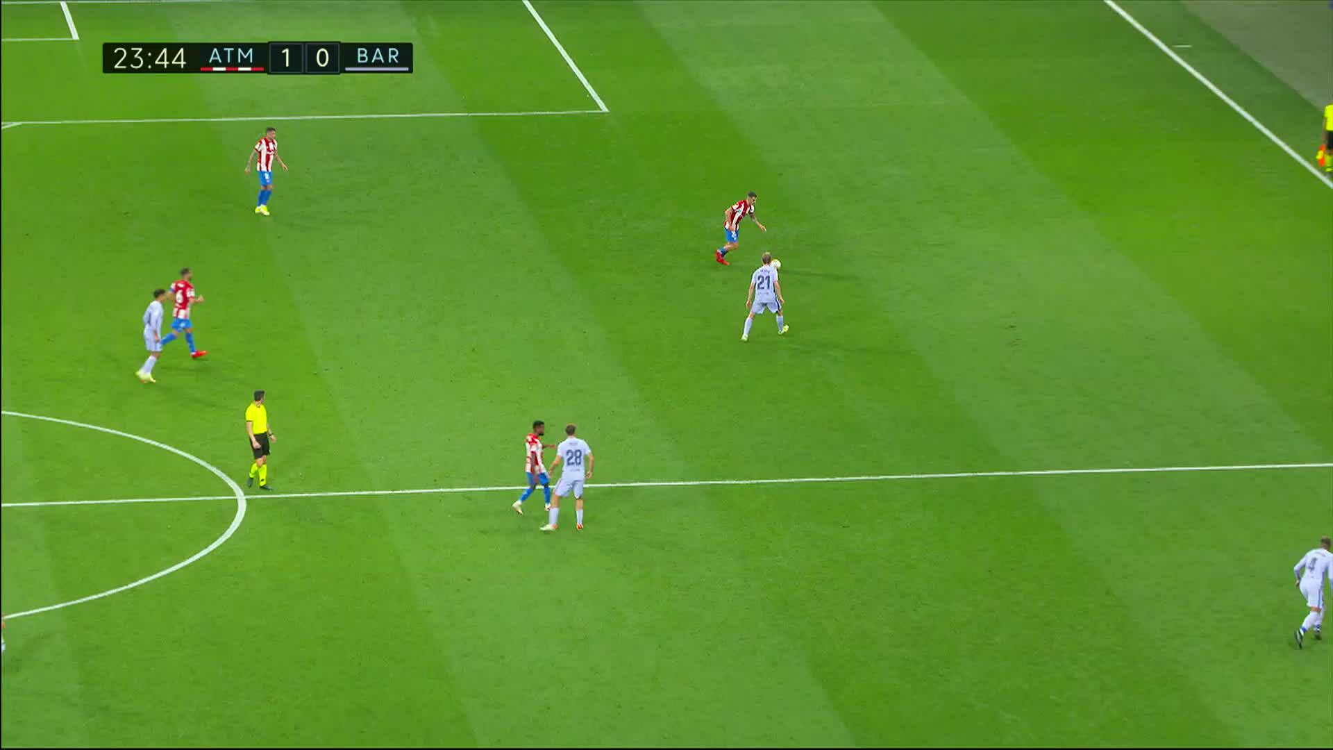 La Liga, Maalikooste: Atlético Madrid - Barcelona