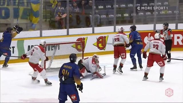 CHL, Arttu Ilomäki vie Lukon 2-0-johtoon