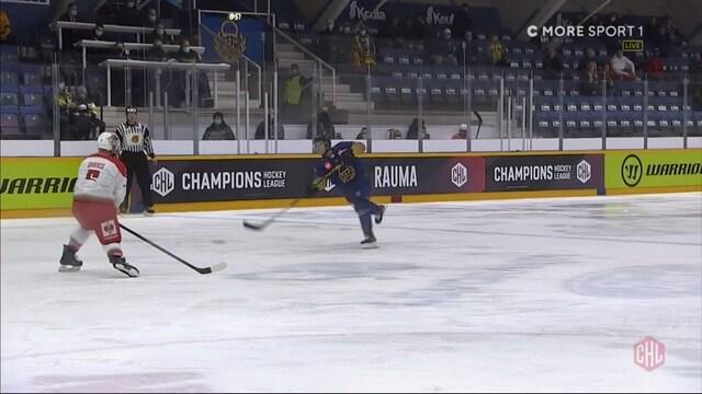 CHL, Vili Saarijärvi laukoo ylivoimalla Lukolle 4-1-maalin