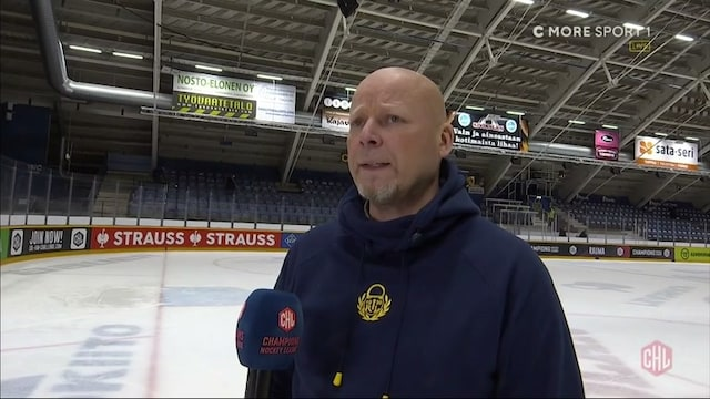 CHL, Lukko-luotsi Marko Virtanen: Tämä oli ensimmäinen peli mikä piti voittaa