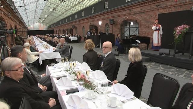 Kevennys 8.10.2021, Lotta Svärd -säätiö juhli tänään 100-vuotista taivaltaan näyttävällä päivägaalalla