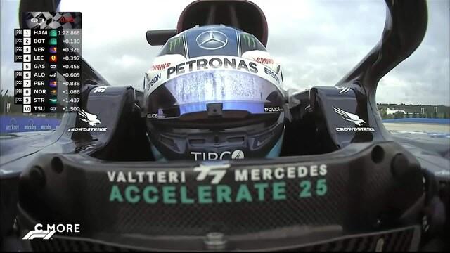 Formula 1: Turkin GP, Aika-ajon ratkaisuhetket: Bottas starttaa kisaan paalupaikalta