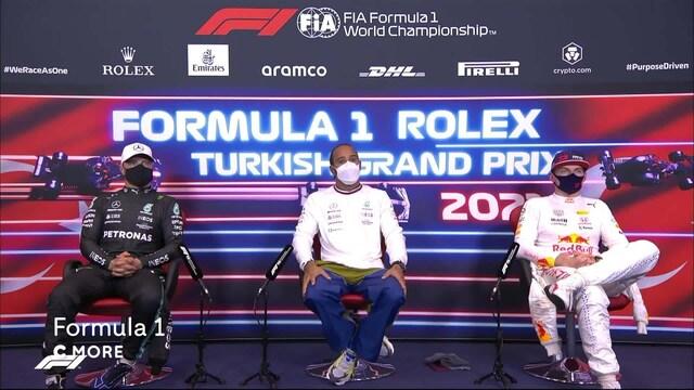 Formula 1: Turkin GP, Aika-ajon lehdistötilaisuus