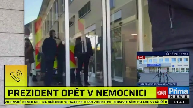 Uutisklipit, Tshekin presidentti tehohoitoon sotilassairaalaan päivä parlamenttivaalien jälkeen – vaalit hävinnyt pääministeri pyrkii vallan kahvaan