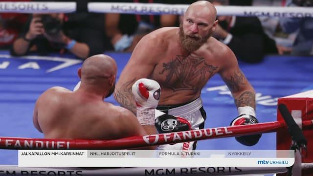 Nyrkkeily, Robert Helenius otti tyrmäävän voiton Adam Kownackista – Tyson Fury voitti huiman MM-taiston Deontay Wilderia vastaan