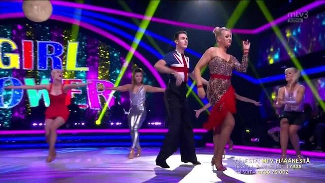 Tanssii Tähtien Kanssa, Jenni & Sami – Spice UP Your Life