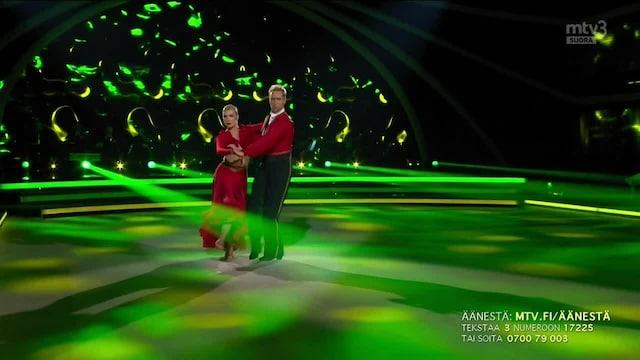 Tanssii Tähtien Kanssa, Waltteri & Kia – Bronx Tango
