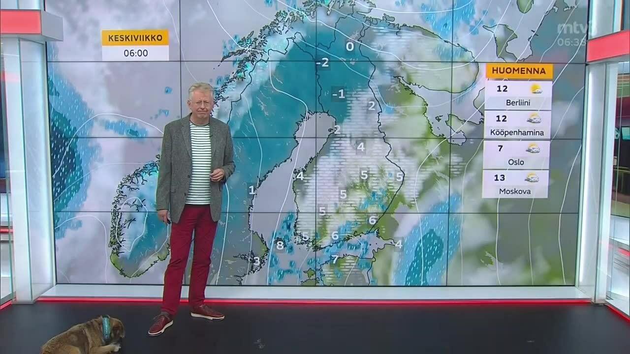 Uutisaamun sää, Tiistai 12.10. Sateenvarjo mukaan!