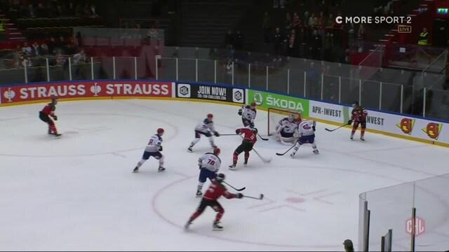 CHL, Frölundan Christian Folin rokottaa HIFK:ta 2-0-osumallaan