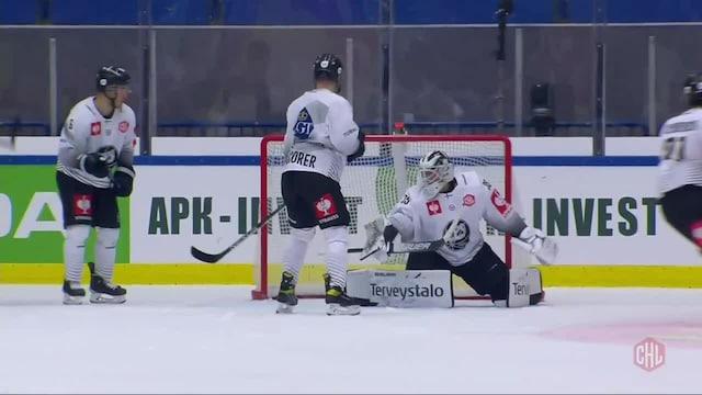 CHL, Växjö kurittaa TPS:ää: Joel Persson laukoo 3-0