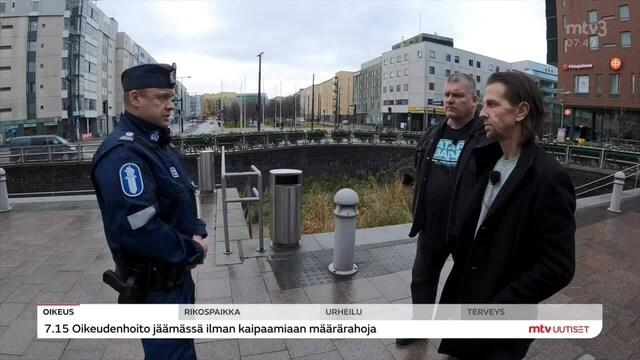 Uutisaamu, Katujengien tilanne pahentunut pääkaupunkiseudulla