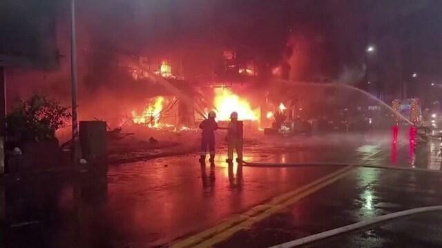 Uutisklipit, Kymmeniä kuoli kerrostalon palossa Taiwanissa