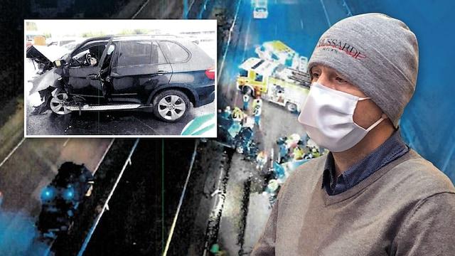 Uutisklipit, Kuvat Espoon kehätiekolarin tapahtumapaikalta ovat surullista katsottavaa – rattijuopo aiheutti kahden hengen kuoleman lokakuussa 2020