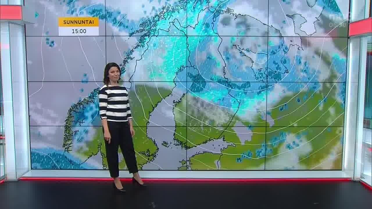 Uutisaamun sää, Perjantai 15.10. Osa Lappia saa lumipeitteen viikonlopuksi
