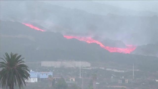 MTV Uutiset Live, Näin La Palman tulivuori purkautui perjantaina