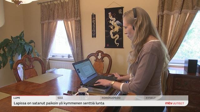 Uutisjutut: Kotimaa, Suomi palailee normaaliin - etätyösuositus päättyy tänään