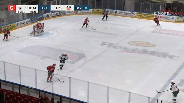 Mestis, Maali: Peliitat - FPS, Juuso Heikkilä(10 Peliitat)