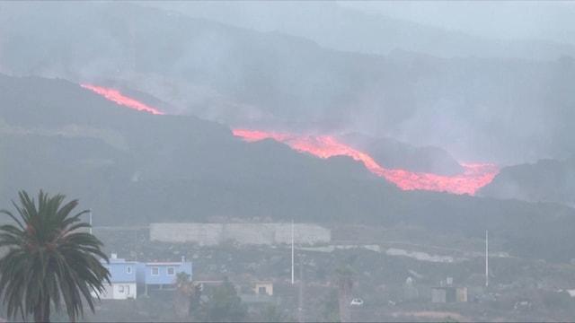 Uutisklipit, Laava peittää taloja alleen La Palmalla – katso ilmakuvavideo